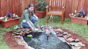 reparación de estanque