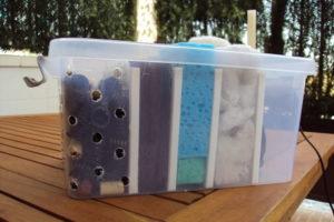 filtro casero de estanque