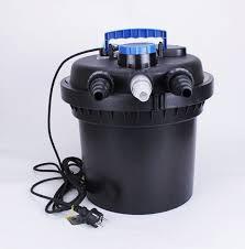 filtro externo de estanque