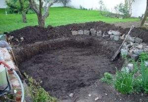pasos para construir estanque